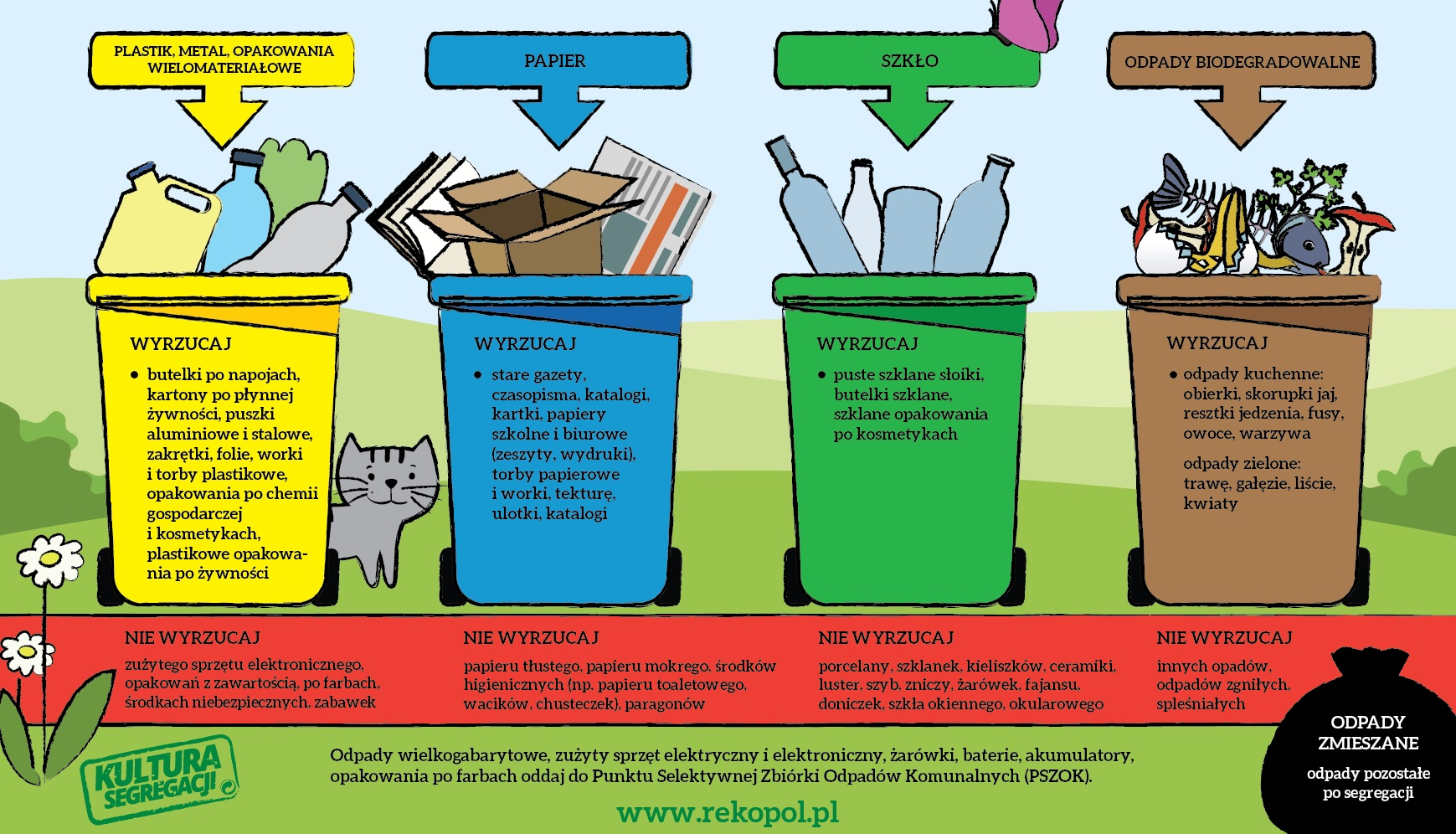 Zasady segregacji - Dzień bez śmiecenia : Dzień bez śmiecenia